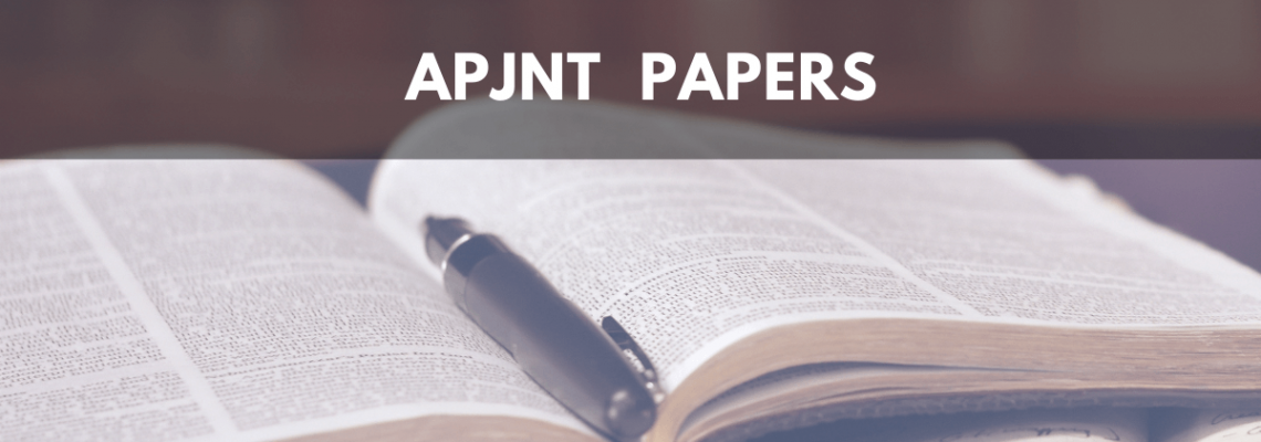 APJNT Papers